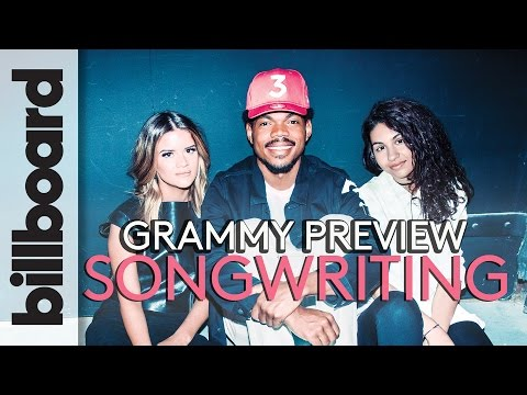 Billboard Grammys Preview: Chance The Rapper, Maren Morris, & Alessia Cara Songwriting Secrets