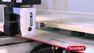 Cutting Doors with 5 Axis CNC presented by Scarlett Inc