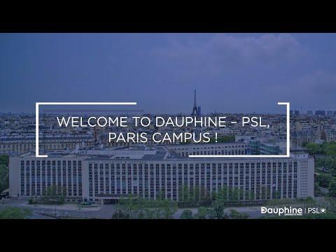 Visite Campus Paris  -  Université Paris Dauphine - PSL