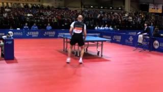 World Team Table Tennis Championships-2012. Jang Song Man (DPRK) - Konstantinos Papageorgiou (GRE)