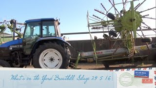 What's in the Yard Broathill Silage 2 Jags Ten Tractors gtritchie5