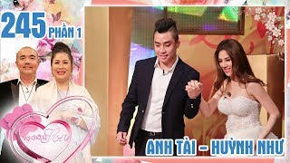 The bride who keeps biting and beating her husband whenever they agrue|Anh Tai-Huynh Nhu|VCS #245 😰