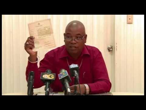 Bishop Juan Edghill produces birth documents to refute APNU-AFC & Kaieteur News lies