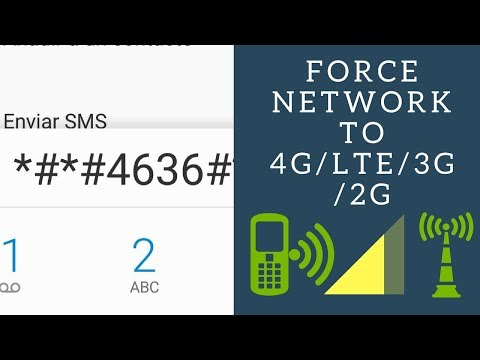 How to force the mobile phone network mode to 2G 3G 4G/LTE on Android