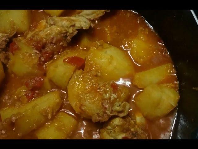 ايدام مسبك بالبطاطس والدجاج من قناة المورزليرا Youtube