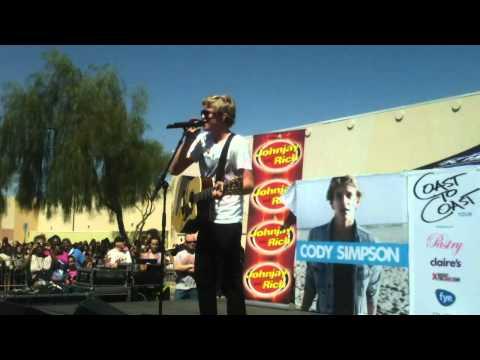Cody Simpson - Angel - LIVE with KISS FM at AZ Mills