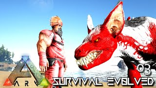 ARK: SURVIVAL EVOLVED - ALPHA KIBBLE & ALPHA TAMES RAVAGER & FEATHERLIGHT !! PRIMAL FEAR OLYMPUS E03