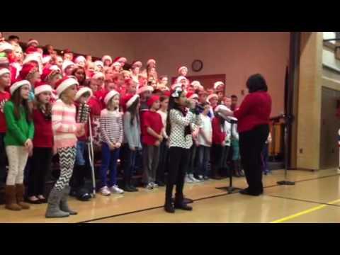 Jentry sings Christmas Jubilation