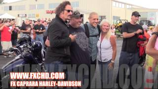 Sons of Anarchy Kim Coates & Theo Rossi Meet & Greet @ FX Caprara Harley-Davidson!!!