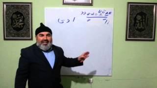 Ali İhsan Türcan Kuran dersi 3. Ders