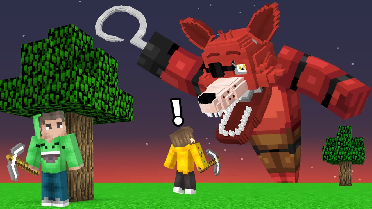 Download DO NOT Play Speedrunner VS Hunters in FIVE NIGHTS AT FREDDY'S! (Minecraft)
