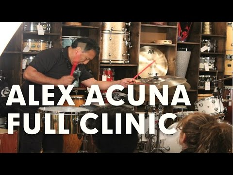 Alex Acuna Full Length Performance Clinic Event at GoDpsMusic