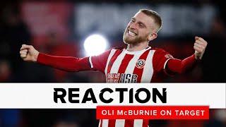 Oli McBurnie | Sheffield United v West Ham United | Reaction interview