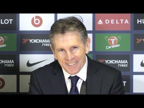 Chelsea 0-0 Leicester - Claude Puel Post Match Press Conference - Premier League #CHELEI