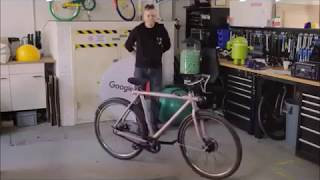 Self-Driving Bicyles by Google in the Netherlands