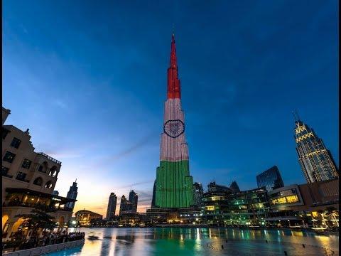 Indian Republic Day 2018 celebration in Dubai and world wide bilding