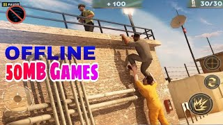 Top 10 OFFLINE Games Under 50MB for Android