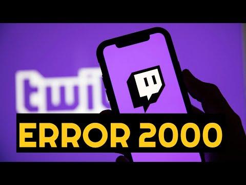 2000: Network Error