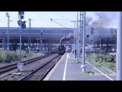 Regiobahn Sommerfest 2015 - Historische Dampflokfahrt Teil 1/2