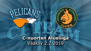La 2.2.2019 Pelicans C1 Team - JIlves