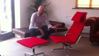 Eames Ea124 Lounge Chair Introduction