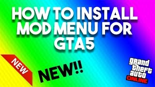 *New* How to install gta5 mod menu (PS3)  NO JAILBREAK *Updated* New link! look below in description