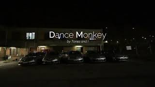 Download lagu [CARS LIGHT SHOW] Dance Monkey (by Tones and I)