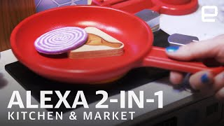 KidKraft's Alexa 2-in-1 Kitchen and Market at Toy Fair 2020
