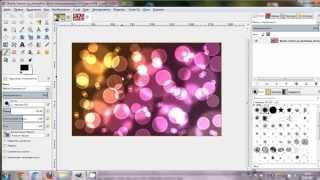 Как добавить эффект боке на фото(Пошаговый видео урок, как добавить эффект боке на фотографию с помощью графического редактора GIMP. Еще боль..., 2013-06-22T19:48:40.000Z)