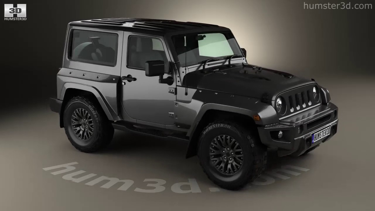 jeep wrangler 2017 2 door black