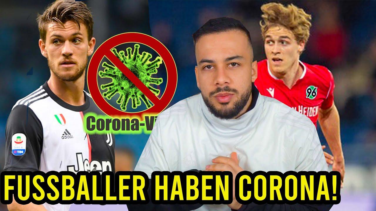 Fussballer Corona