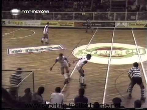 Hoquei Patins :: Juventude Viana - 0 x Sporting - 8 de 1988/1989