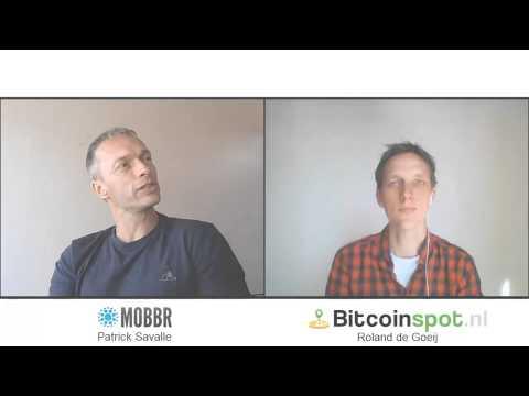 Bitpraat #5: Patrick Savalle - Crowdfunding the Bitcoin-devs with Mobbr.