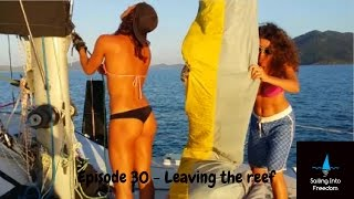 Gambar cover Sailing into Freedom   Episode 30 Plukky & the Italian girls leaving the reef HD