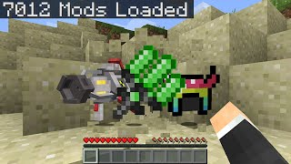 Minecraft Randomizer but with 7,000 mods...