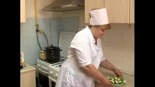 Постная кухня. Фаршированные грибы от повара монашеской трапезной.