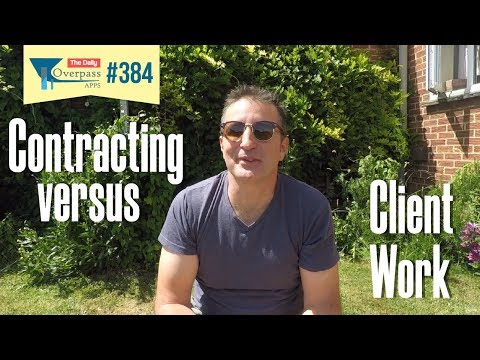 Contracting vs Client Work