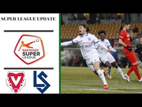 Highlights FC Vaduz vs. FC Lausanne-Sport | 12. Runde |Super League | HD (17.12.2020)