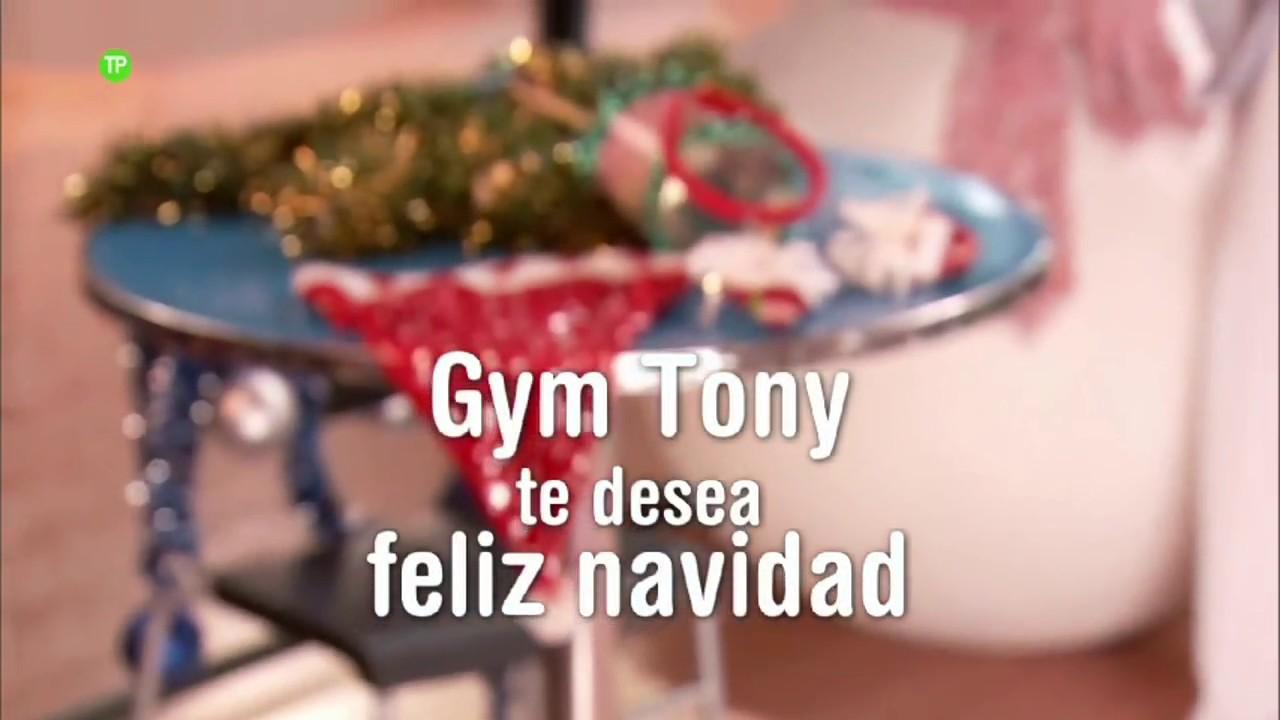 Feliz Navidad Antonio Recio.Villancicos Gym Tony Telecinevision