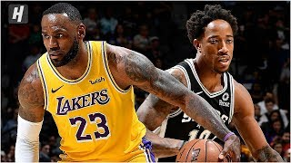 Los Angeles Lakers vs San Antonio Spurs - Full Game Highlights | November 25, 2019 NBA Season