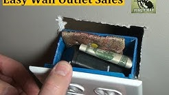 Easy Wall Outlet Safe Project