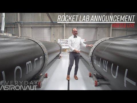 Let's watch Rocket Lab's announcement
