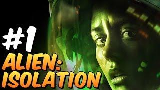 Alien: Isolation Gameplay #1 Corredores apertados...