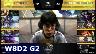 Video FlyQuest vs Golden Guardians | Week 8 Day 2 of S8 NA LCS Spring 2018 | FLY vs GGS W8D2 G2 download MP3, 3GP, MP4, WEBM, AVI, FLV Agustus 2018
