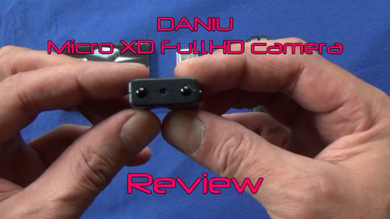 DANIU Micro XD FullHD camera - Review - YouTube