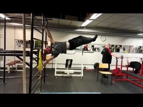 frontlever/ muscle up/ human flag harjottelua - youtube, Muscles