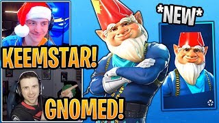 Streamers React to *NEW* Grimbles Skin and Cold Snap Pickaxe! - Fortnite Best and Funny Moments
