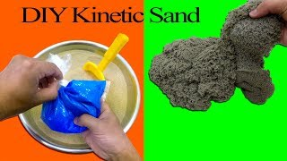DIY Kinetic Sand with Old Slime I How To Make Kinetic Sand with Slime Fails