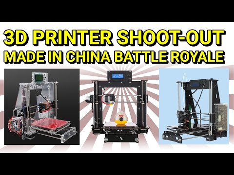 Bored of lame 3D printer reviews? Meet the Cheap Chinese 3D Printer i3 clones under $200