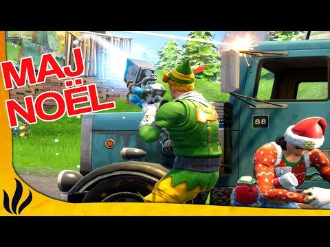 MAJ NOËL ! BOULES DE NEIGE ! PASSE DE COMBAT ! DUO AVEC PROPAX ! (Fortnite: Battle Royale)